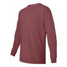 Garment Dyed Midweight Ringspun Long Sleeve T-Shirt