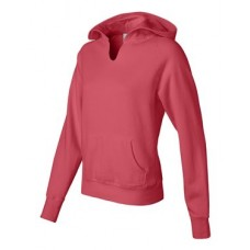Women's Garment Dyed Ringspun Hooded Pullover