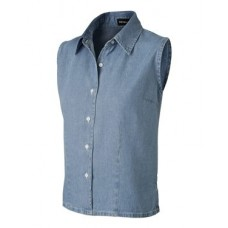 Ladies' Sleeveless Denim