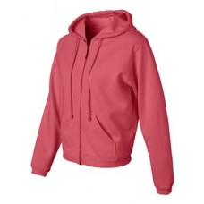 Women's Garment Dyed Ringspun Hooded Full-Zip Sweatshirt