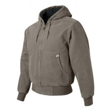 Cheyenne Hooded Boulder Cloth™ Jacket with Tricot Quilt Lining