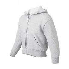 ComfortBlend® EcoSmart® Youth Full-Zip Hooded Sweatshirt