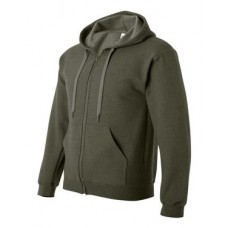 Heavy Blend Vintage Classic Full-Zip Hooded Sweatshirt