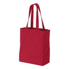 10 Ounce Gusseted Cotton Canvas Tote