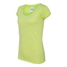 Ladies' Twisted Slub Scoopneck T-Shirt