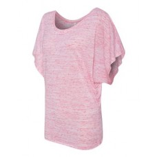 Women's Flowy Draped Sleeve Dolman Tee