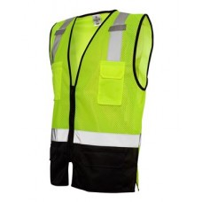 Class 2 Black Bottom Vest