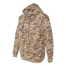 Adult Camo Pullover Fleece Hoodie