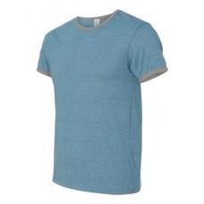 Eco Mock Twist Ringer Crew T-Shirt