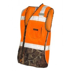 Class 2 Mossy Oak Camo Vest