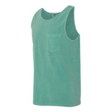 Garment Dyed Tank with a Pocket