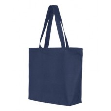24.5L Canvas Zippered Tote