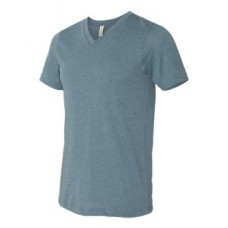 Unisex Short Sleeve V-Neck Jersey Tee