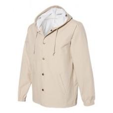 Hooded Water Resistant Windbreaker Jacket