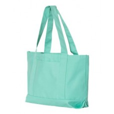 Pigment Dyed Premium 12 Ounce Canvas Gusseted Tote