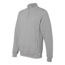 Dri Power® Quarter-Zip Cadet Collar Sweatshirt