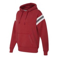 Vintage Athletic Hooded Sweatshirt