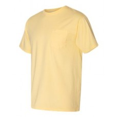 Garment Dyed Short Sleeve T-Shirt With a Pocket