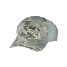 Camo Washed Trucker Cap