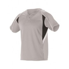 Adult Two Button Henley Baseball Jersey