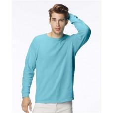 Garment Dyed Midweight Ringspun Long Sleeve T-Shirt