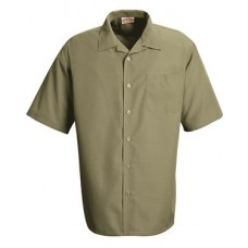 Linden Grey Microfiber Convertible Collar Shirt