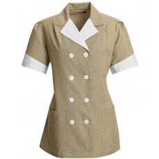 Ladies' Double-Breasted Lapel Tunic