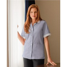 Ladies' Single-Breasted Lapel Tunic
