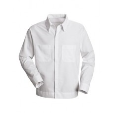 Button-Front Shirt Jacket