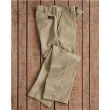 Plain Front Work Pants