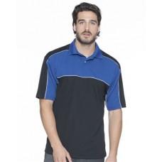 Daytona Racing Colorblocked Moisture-Free Mesh Sport Shirt
