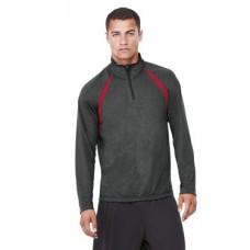 Quarter-Zip Lightweight Raglan Pullover