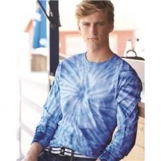 Cyclone Vat-Dyed Pinwheel Long Sleeve T-Shirt