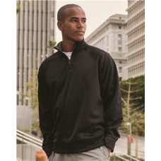 Dri-Power® Sport Quarter-Zip Cadet Collar Sweatshirt