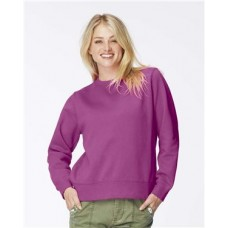 Garment Dyed Women's Crewneck Sweatshirt