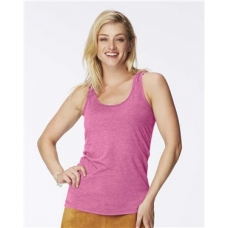 Garment Dyed Women's Racerback Tank Top
