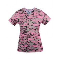Digital Camo Women's V-neck Tee