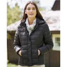32 Degrees Women's Hooded Packable Down Jacket