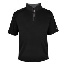 B-Core Short Sleeve 1/4 Zip Tee