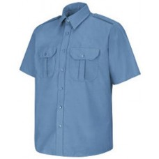 Men's Short Sleeve Security Shirt Long Sizes