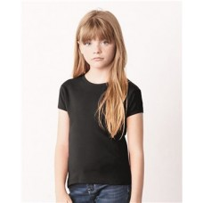 Girls' Baby Rib Short Sleeve Tee