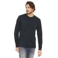 Unisex Sueded Long Sleeve Crew