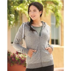 Cozy Fleece Women's Full-Zip Hooded Sweatshirt