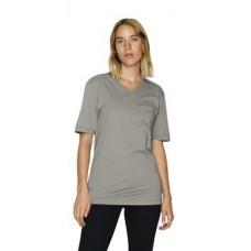 Unisex Organic Fine Jersey Classic v-Neck T-Shirt