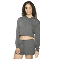 Women's Tri-Blend Cropped Hoodie