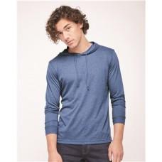 Unisex Triblend Long Sleeve Hooded T-Shirt
