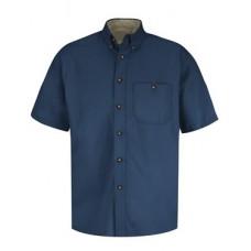 Men's S/S 100% Cotton Dress Shirt
