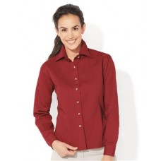 Women's Long Sleeve Cotton Twill Shirt