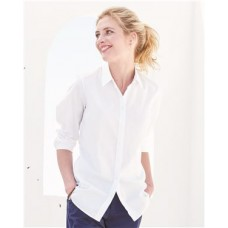 Women's New England Solid Oxford Shirt