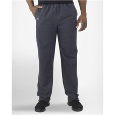 Cotton Rich Fleece Open Bottom Sweatpants with Pockets